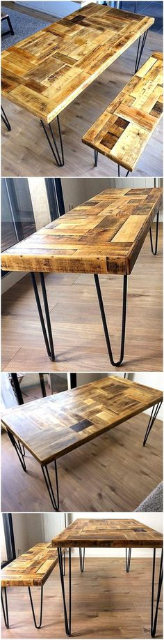 Las 73 Mejores Imágenes De Mesas Variadas En 2019 | Wood Intended For Carbon Loft Lawrence Reclaimed Cube Coffee Tables (View 48 of 50)