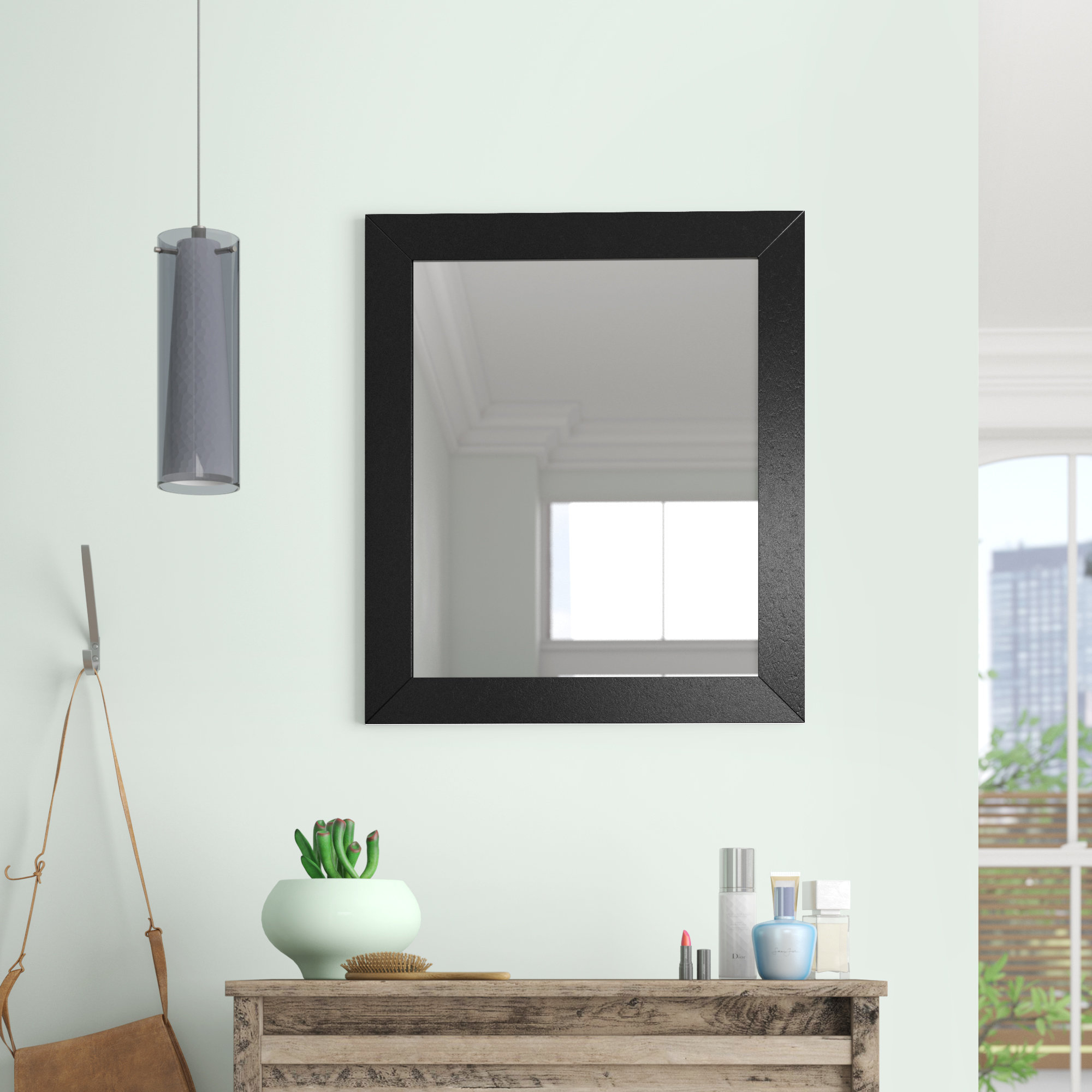 Latitude Run Modern & Contemporary Accent Mirror Intended For Menachem Modern & Contemporary Accent Mirrors (View 10 of 20)