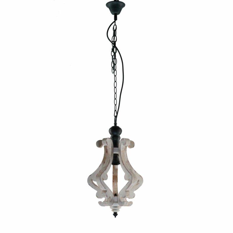 Latonia Wooden 1 Light Single Geometric Pendant With Van Horne 3 Light Single Teardrop Pendants (View 14 of 25)