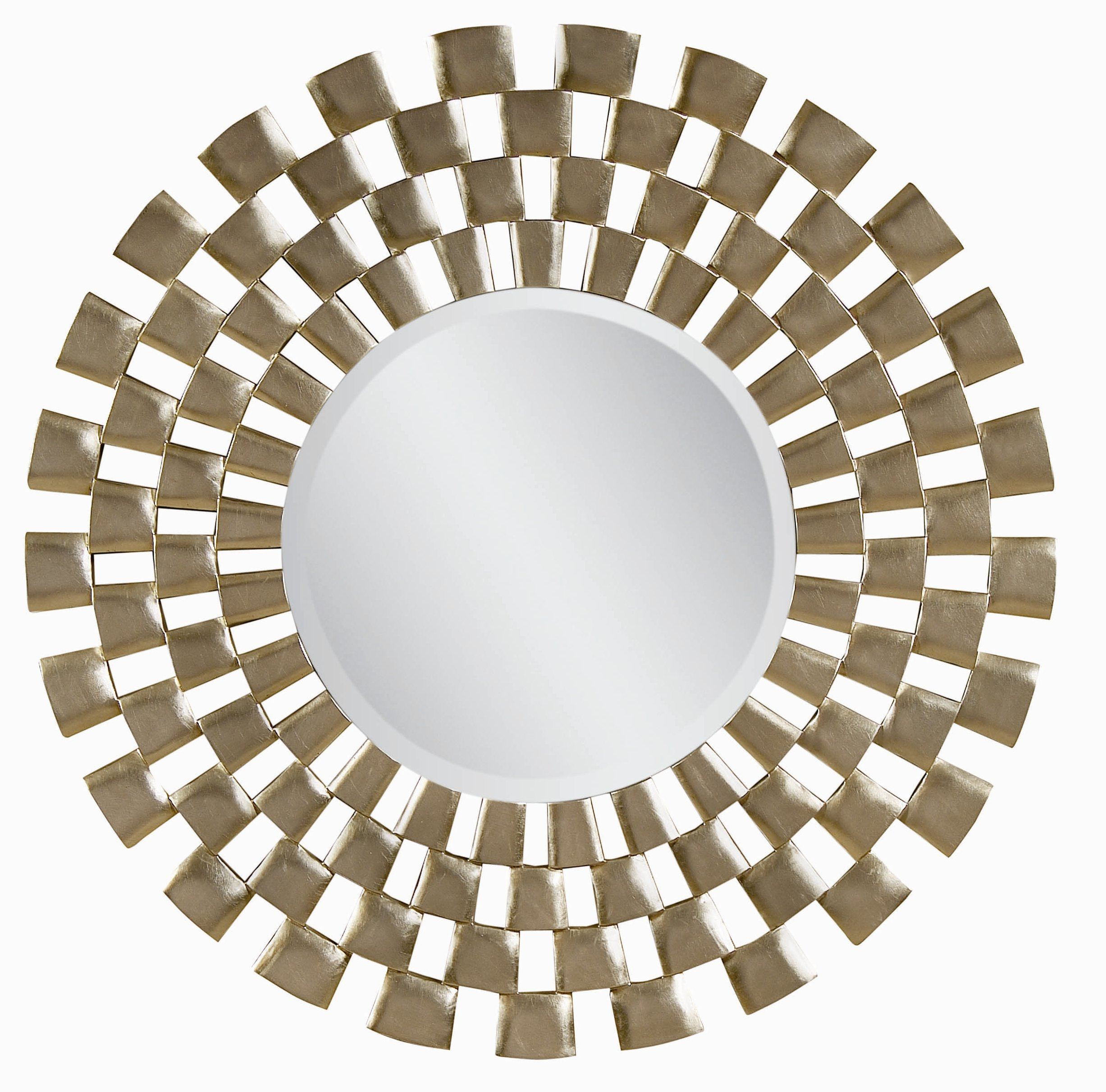 Leaf Wall Mirror | Wayfair With Regard To Carstens Sunburst Leaves Wall Mirrors (Image 14 of 20)