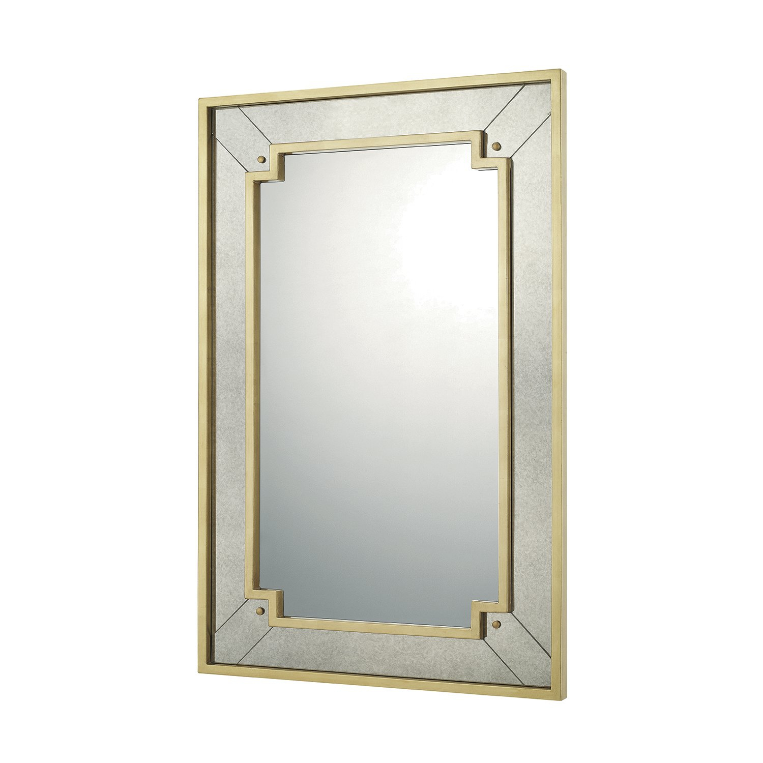 Leaf Wall Mirror | Wayfair Within Carstens Sunburst Leaves Wall Mirrors (Image 15 of 20)