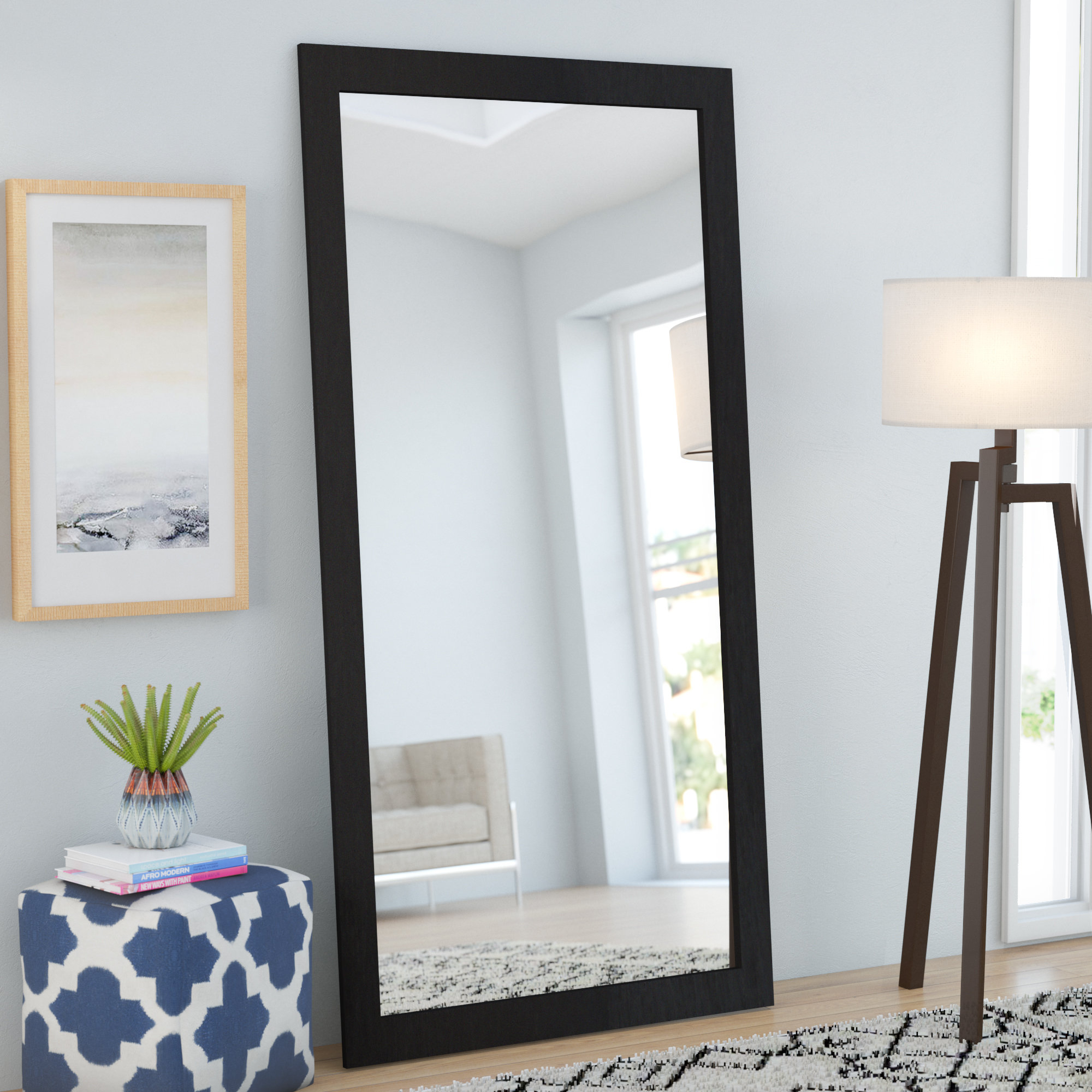 Featured Image of Leaning Mirrors
