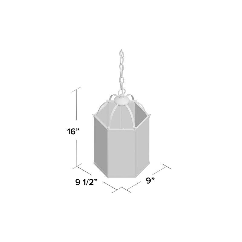 Leiters 3 Light Lantern Geometric Pendant Inside Leiters 3 Light Lantern Geometric Pendants (View 7 of 20)