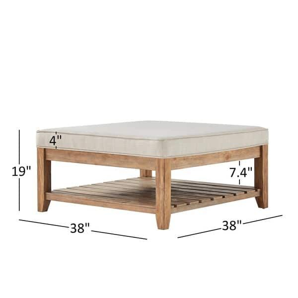 Lennon Pine Planked Storage Ottoman Coffee Tableinspire Inside Lennon Pine Planked Storage Ottoman Coffee Tables (View 10 of 25)