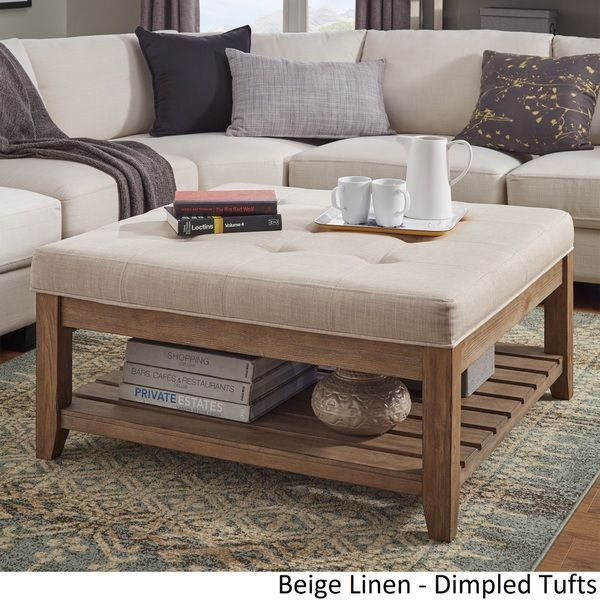 Lennon Pine Planked Storage Ottoman Coffee Tableinspire With Regard To Lennon Pine Planked Storage Ottoman Coffee Tables (View 3 of 25)