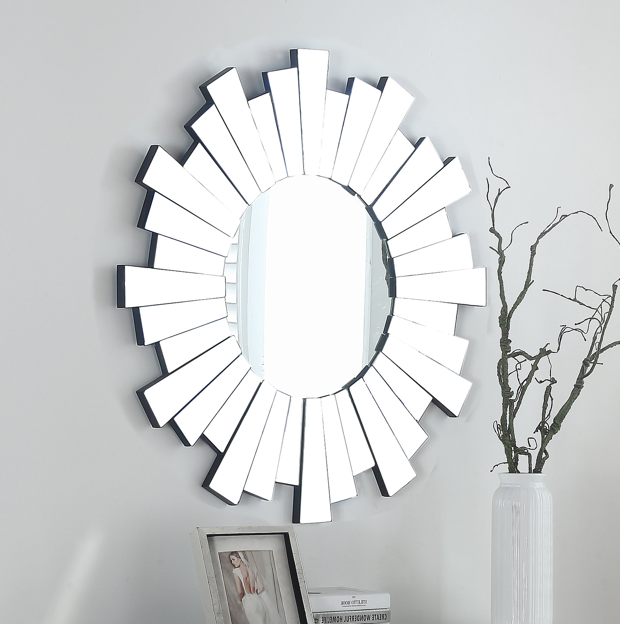 Levita Glam Beveled Accent Mirror With Glam Beveled Accent Mirrors (Image 16 of 20)