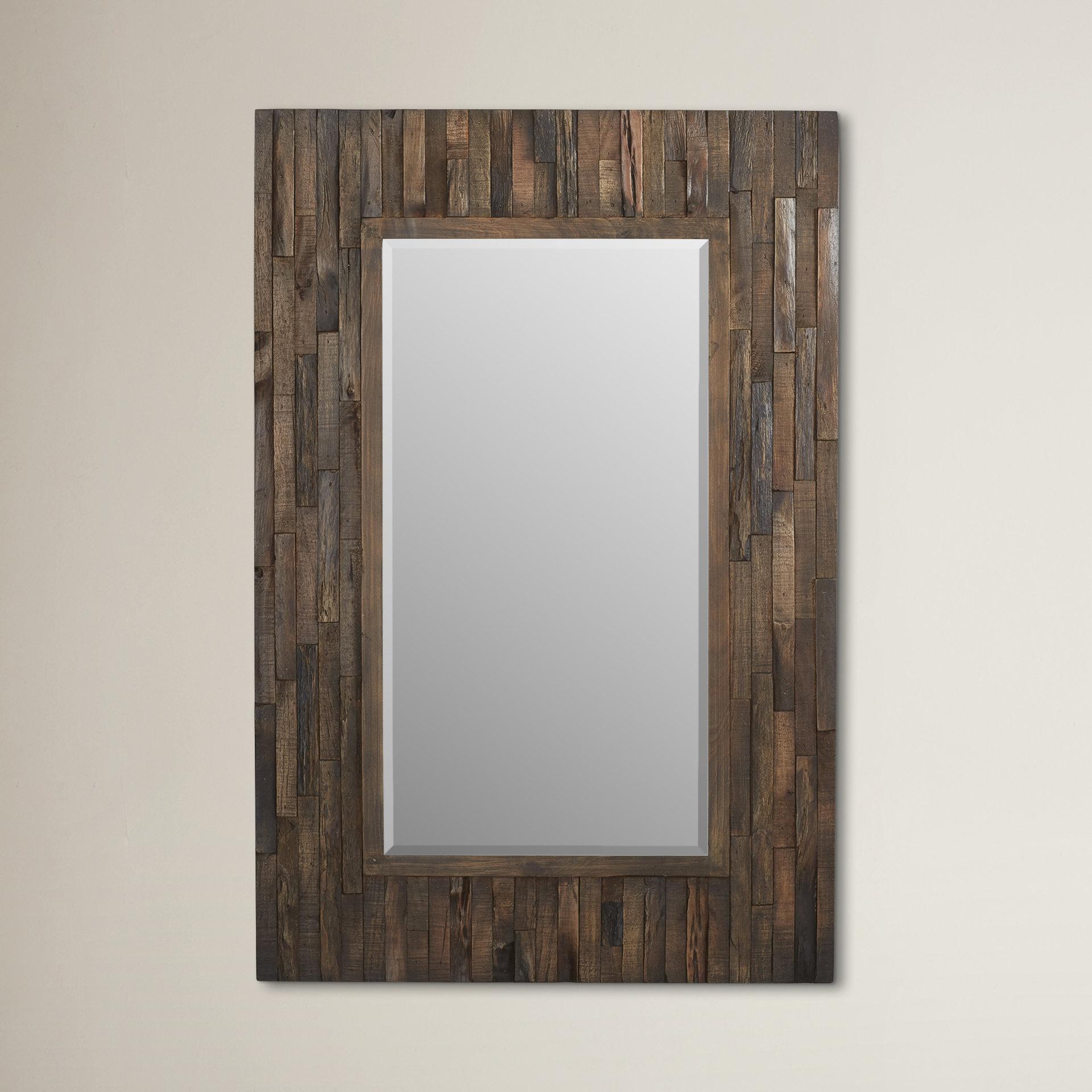 Lewis Rectangular Wall Mirror With Regard To Janie Rectangular Wall Mirrors (Image 8 of 20)