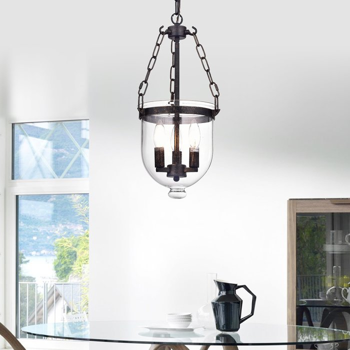 Liao 3 Light Single Urn Pendant For 3 Light Single Urn Pendants (Image 21 of 25)