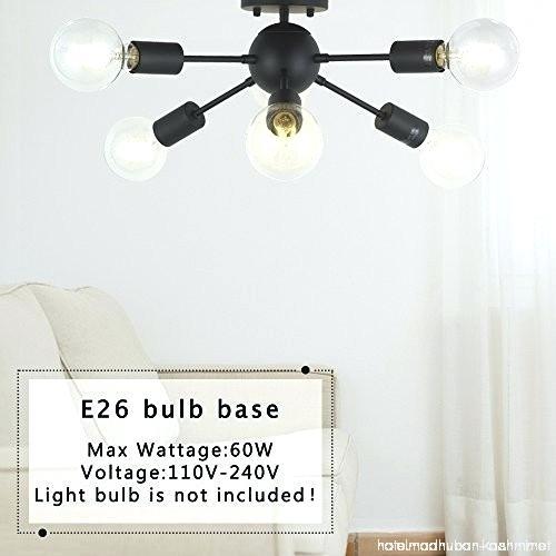 Light Bulbs For Sputnik Chandelier – 7Artisans (View 10 of 20)