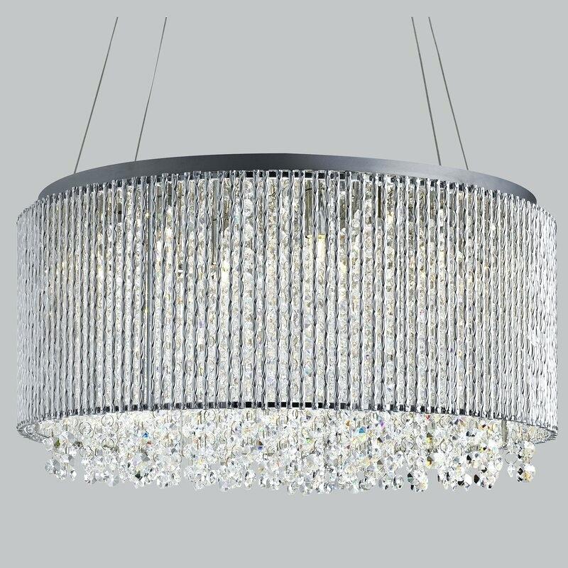 Light Crystal Chandelier – Petprovide (View 7 of 20)