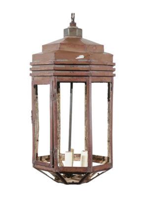 Lighting | William Word Fine Antiques With Regard To William 4 Light Lantern Square / Rectangle Pendants (Image 9 of 25)