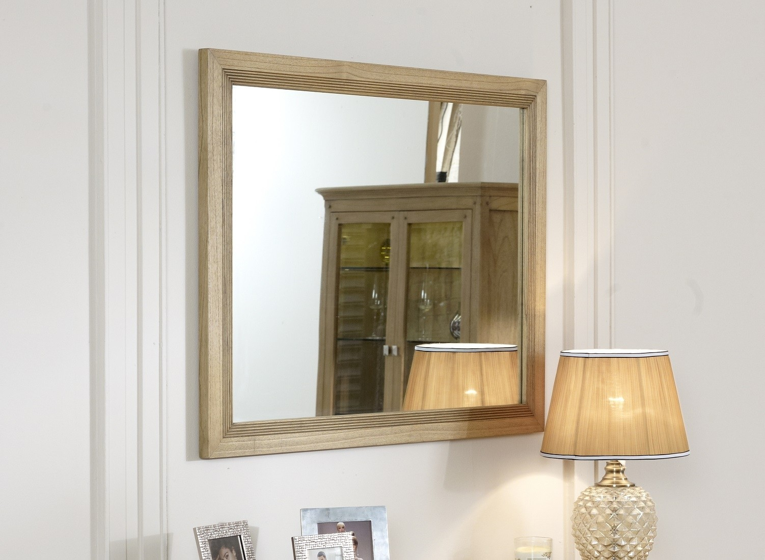 Lincoln Ash Wall Mirror For Elevate Wall Mirrors (Image 20 of 20)