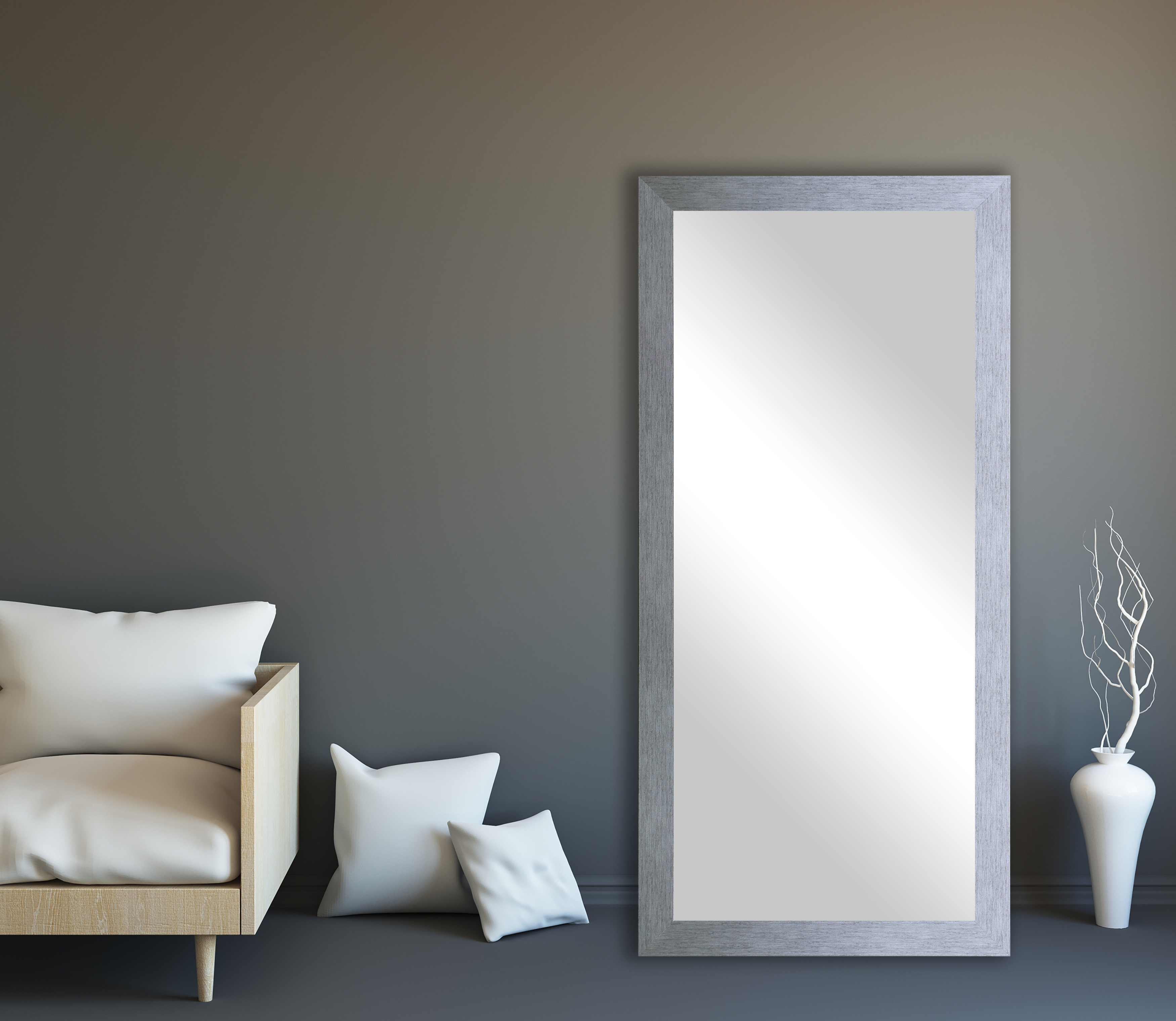 Lloyd Modern And Contemporary Full Length Mirror With Regard To Dalessio Wide Tall Full Length Mirrors (Image 14 of 20)