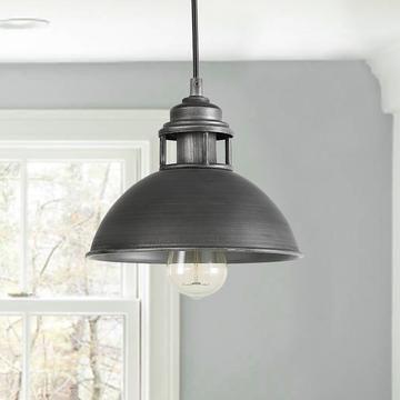 Lnc Home Industrial Pendant Light Kitchen Lighting A03272 1 Regarding Amara 2 Light Dome Pendants (View 23 of 25)