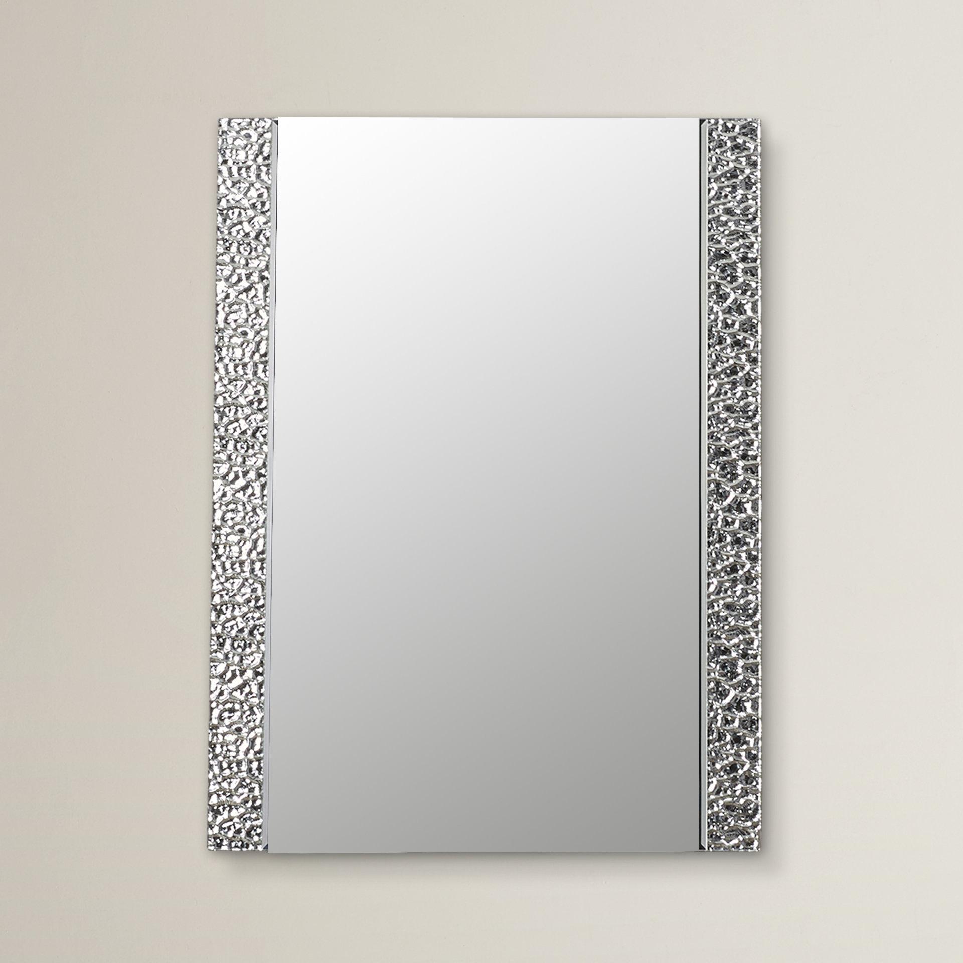 Logan Vanity Wall Mirror Inside Logan Frameless Wall Mirrors (Image 11 of 20)