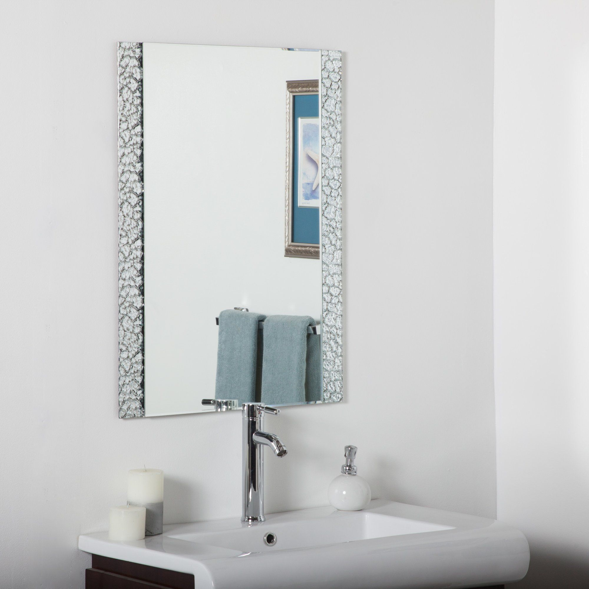 Logan Vanity Wall Mirror | Mirrors | Vanity Wall Mirror With Logan Frameless Wall Mirrors (View 17 of 20)