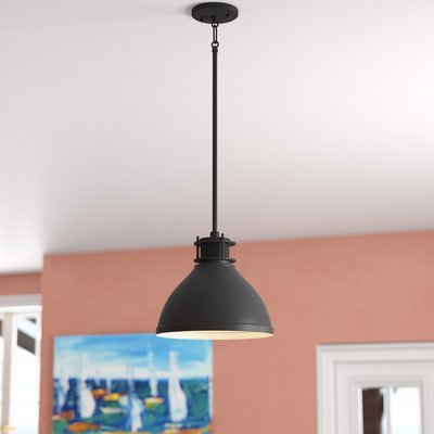 Longshore Tides Arria 1 Light Cone Pendant In 2019 With Abernathy 1 Light Dome Pendants (Image 20 of 25)