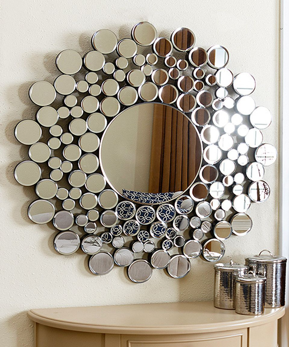 Look At This #zulilyfind! Buchon Round Bubble Wall Mirror Throughout Kentwood Round Wall Mirrors (View 3 of 20)