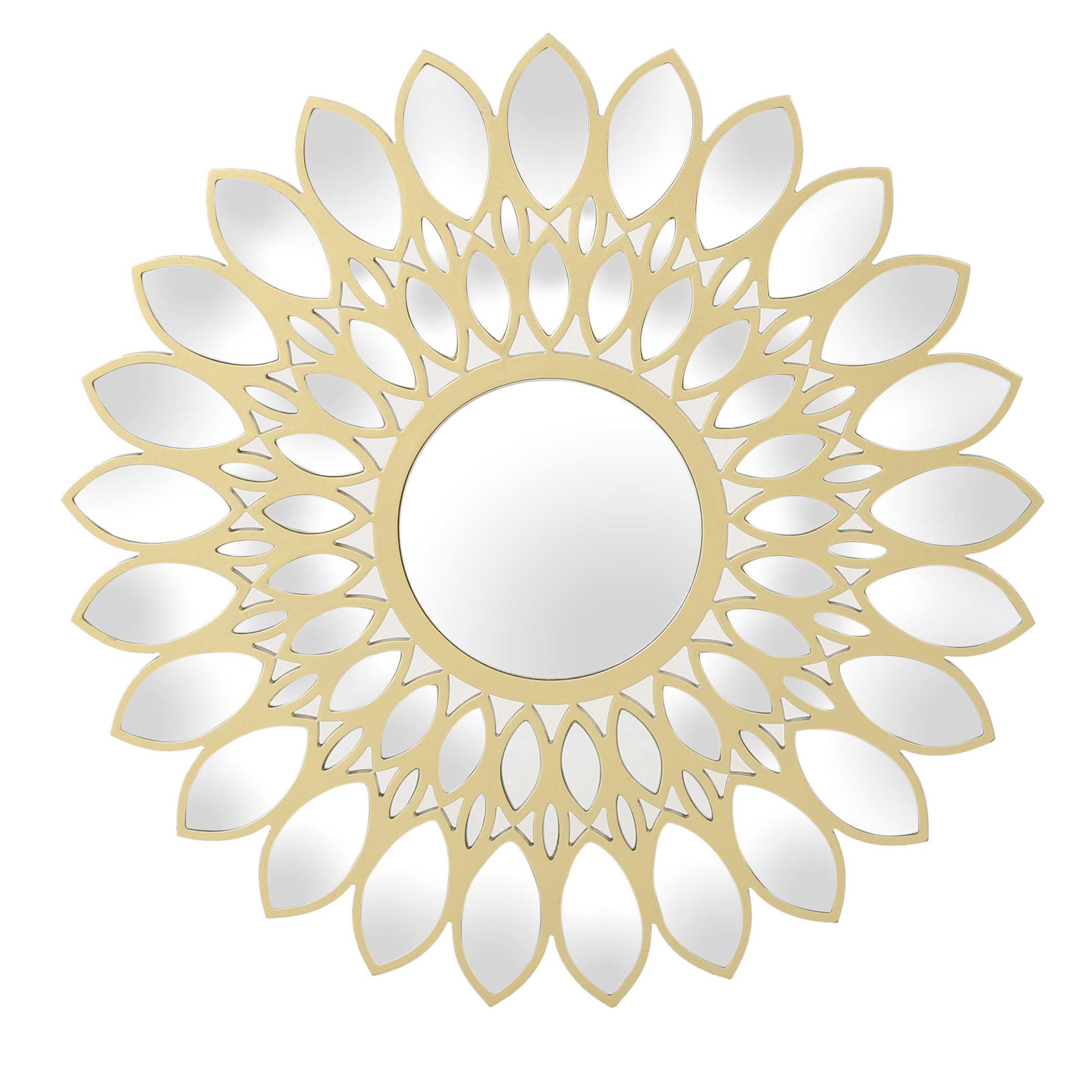 Lotus Mirror | Wayfair With Bruckdale Decorative Flower Accent Mirrors (View 14 of 20)