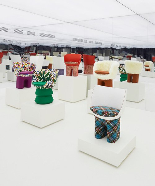 Louis Vuitton Presents New Objets Nomades Pieces At Milan Within The Curated Nomad Belize Woven Cocktail Tables (View 21 of 25)