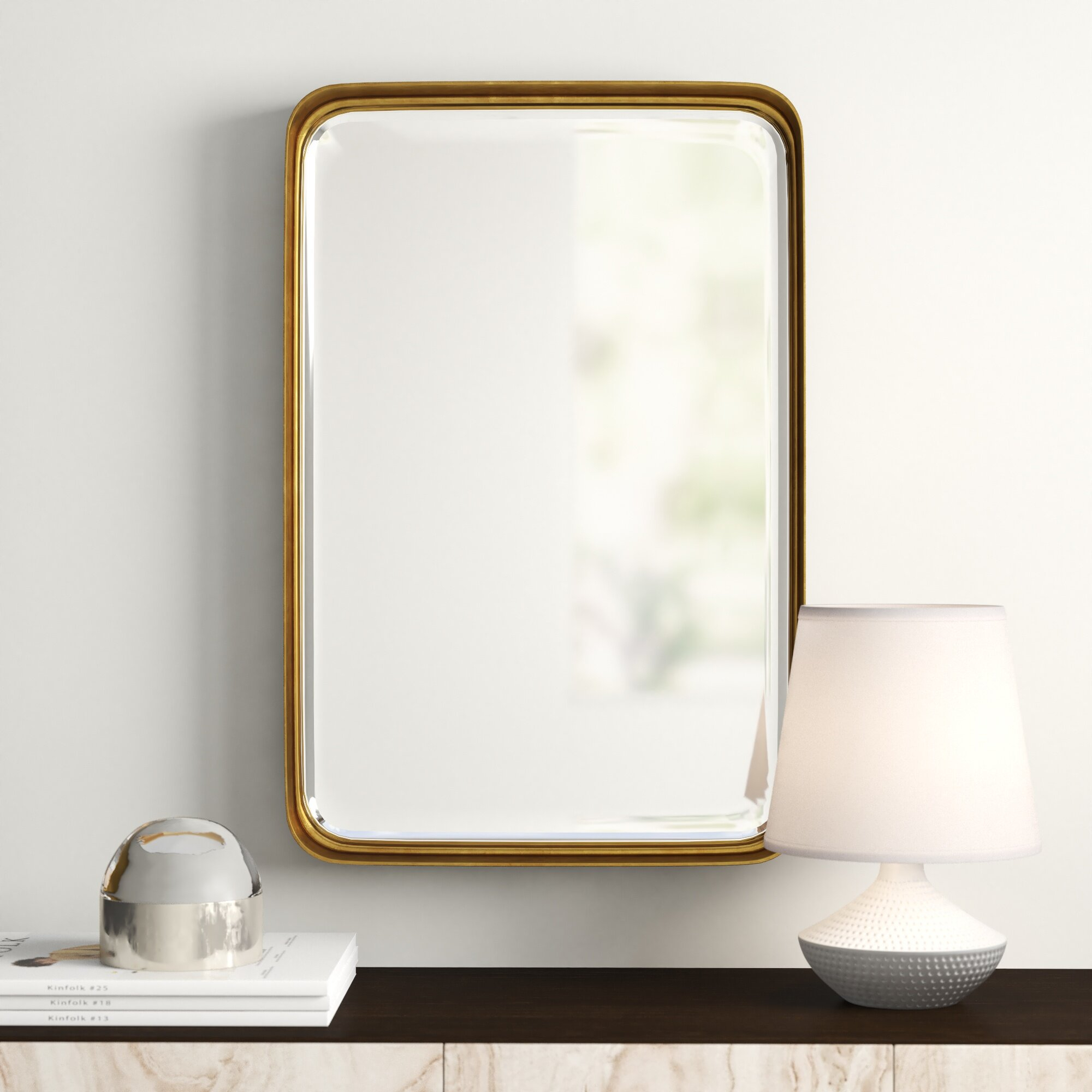Lugo Rectangle Accent Mirror Regarding Rectangle Accent Mirrors (View 5 of 20)