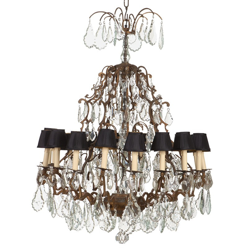Luster Granville Chandeliereichholtz   Interior Deluxe Pertaining To Granville 2 Light Single Dome Pendants (View 16 of 25)