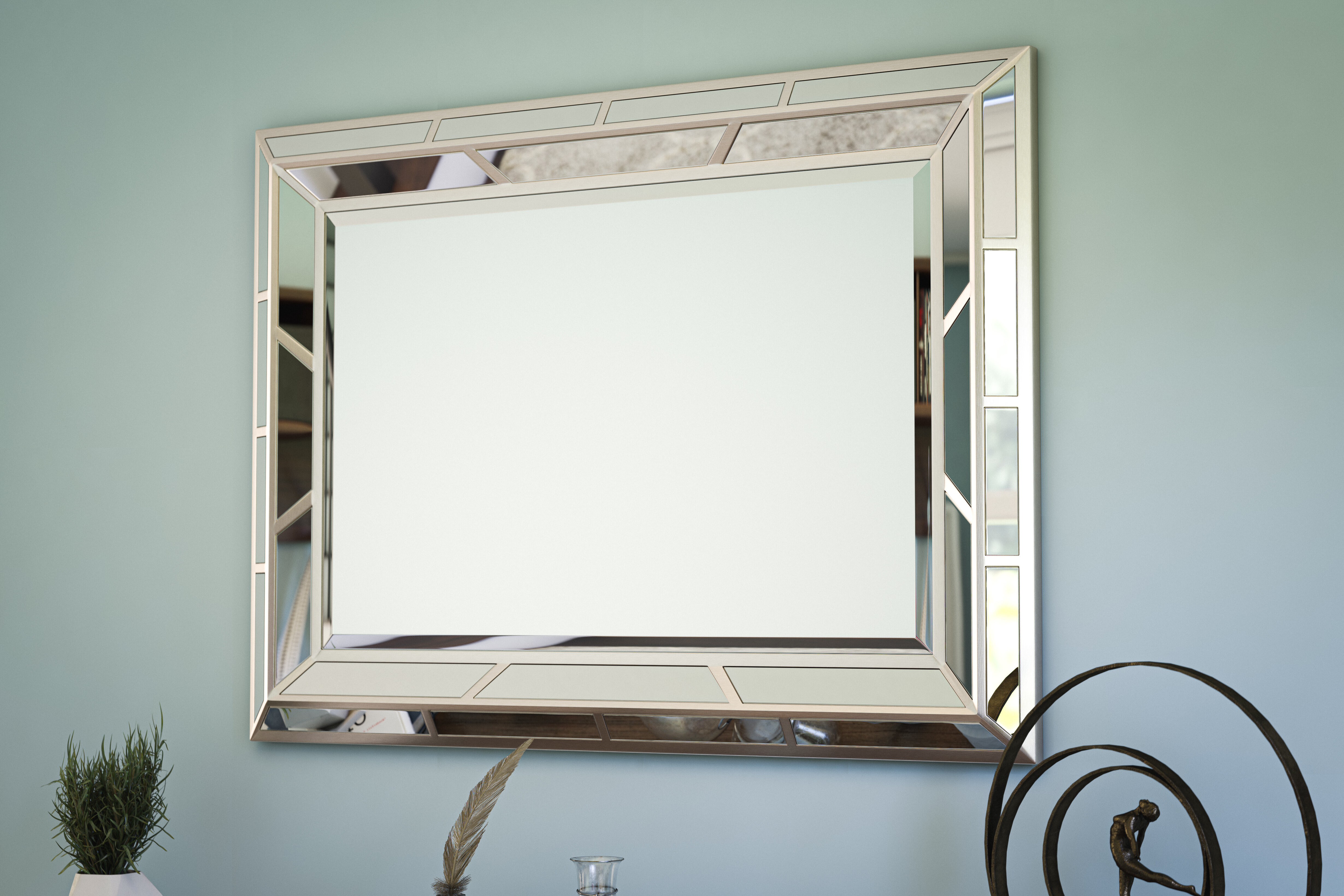 Lynn Accent Mirror Regarding Ansgar Accent Mirrors (View 10 of 20)