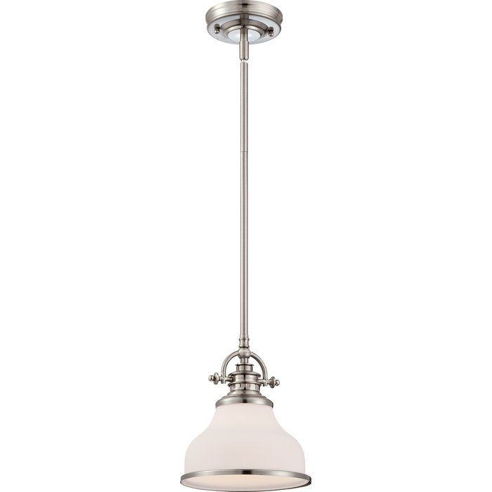 Macon 1 Light Dome Pendant | Cool House Decorations Intended For Macon 1 Light Single Dome Pendants (View 3 of 25)