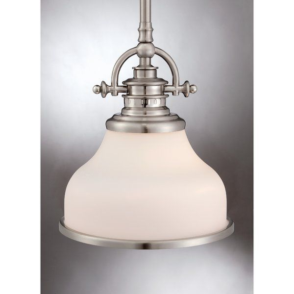 Macon 1 Light Single Bell Pendant In 2019 | Kitchen Lighting Inside Macon 1 Light Single Dome Pendants (View 11 of 25)