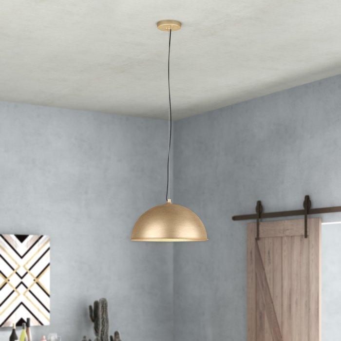 Maconay 1 Light Single Dome Pendant Intended For Macon 1 Light Single Dome Pendants (View 8 of 25)