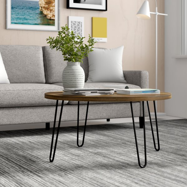 Madison Park Coffee Table | Wayfair With Regard To Furniture Of America Charlotte Weathered Oak Glass Top Coffee Tables (View 42 of 50)