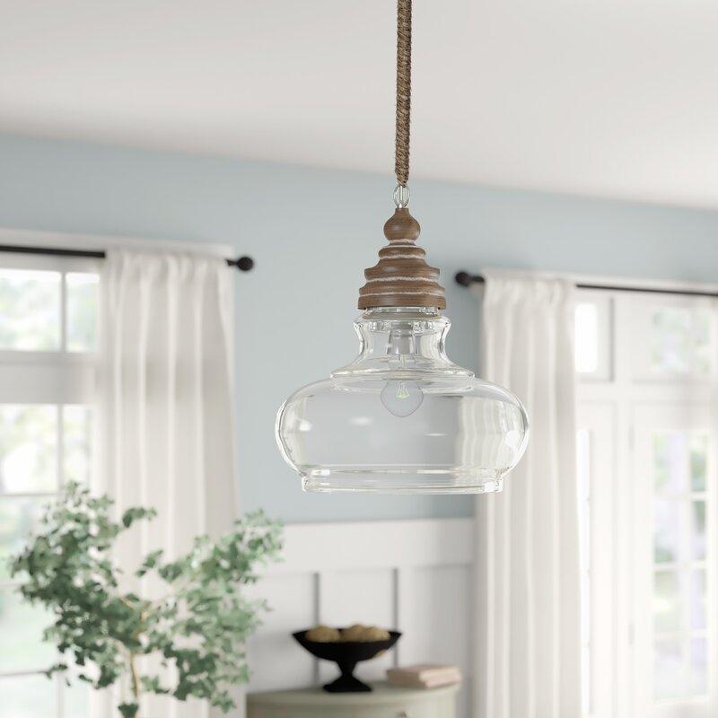 Maelle 1 Light Bell Pendant Within Akakios 1 Light Single Bell Pendants (View 11 of 25)