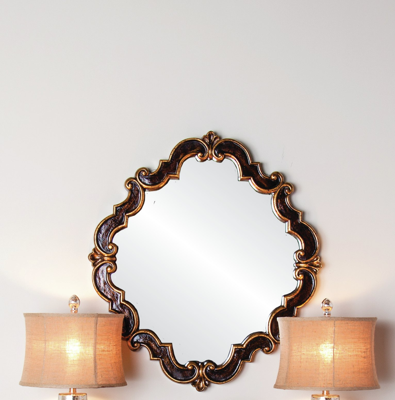 Mandurah Medallion Accent Mirror Within Medallion Accent Mirrors (View 2 of 20)