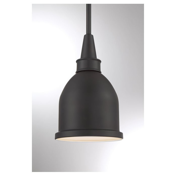 Manston 1 Light Single Bell Pendant With Hamilton 1 Light Single Dome Pendants (Image 15 of 25)