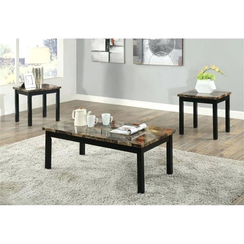 Marble Top Coffee Table Sets – Bullandbee (View 25 of 25)