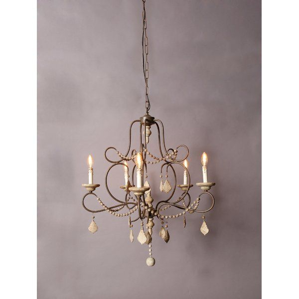 Marchant 5 Light Chandelier In 2019   Bi Library Lights Regarding Hesse 5 Light Candle Style Chandeliers (Image 19 of 20)