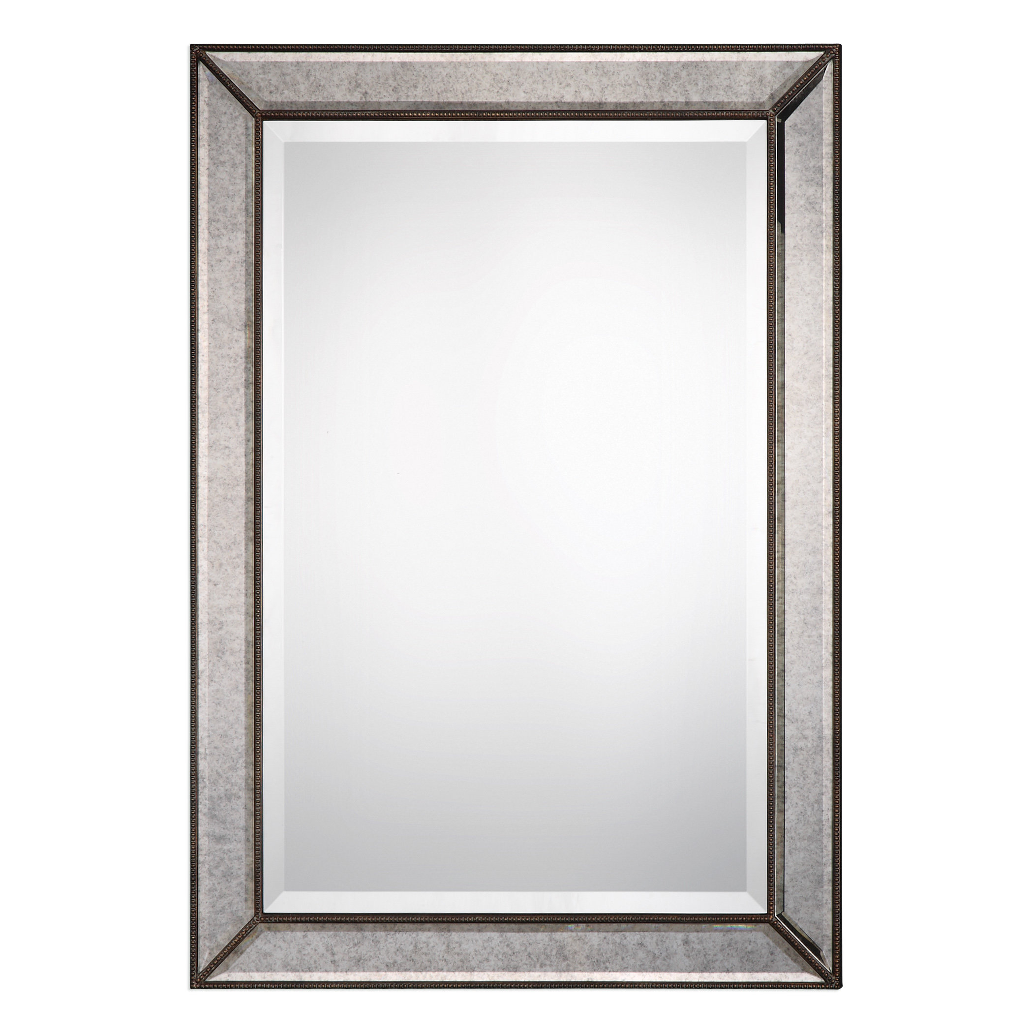 Marsha Traditional Rectangle Mdf/mirror Framed Accent Mirror Intended For Maude Accent Mirrors (Image 8 of 20)