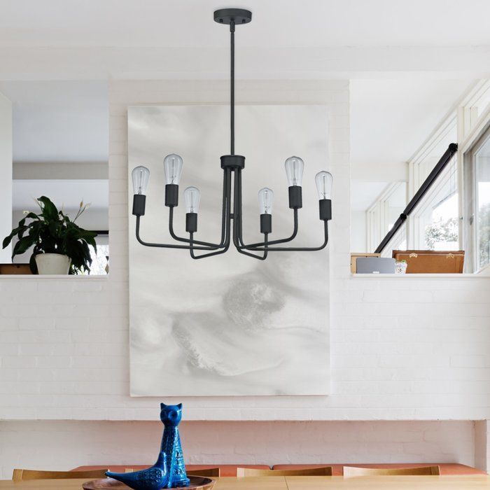 Marte 6 Light Candle Style Chandelier In 2019 | Casa De Intended For Sherri 6 Light Chandeliers (View 10 of 20)