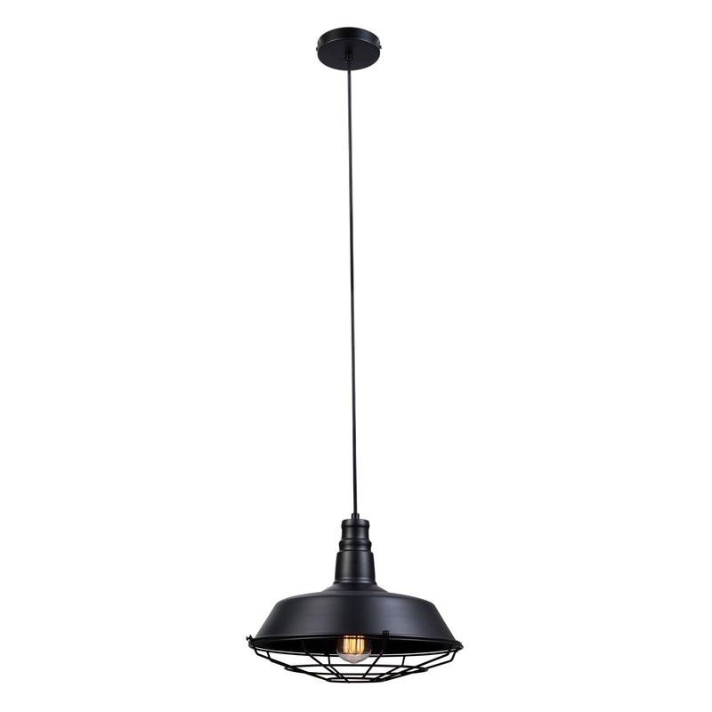 Massey 1 Light Single Dome Pendant Regarding Adriana Black 1 Light Single Dome Pendants (Image 19 of 25)