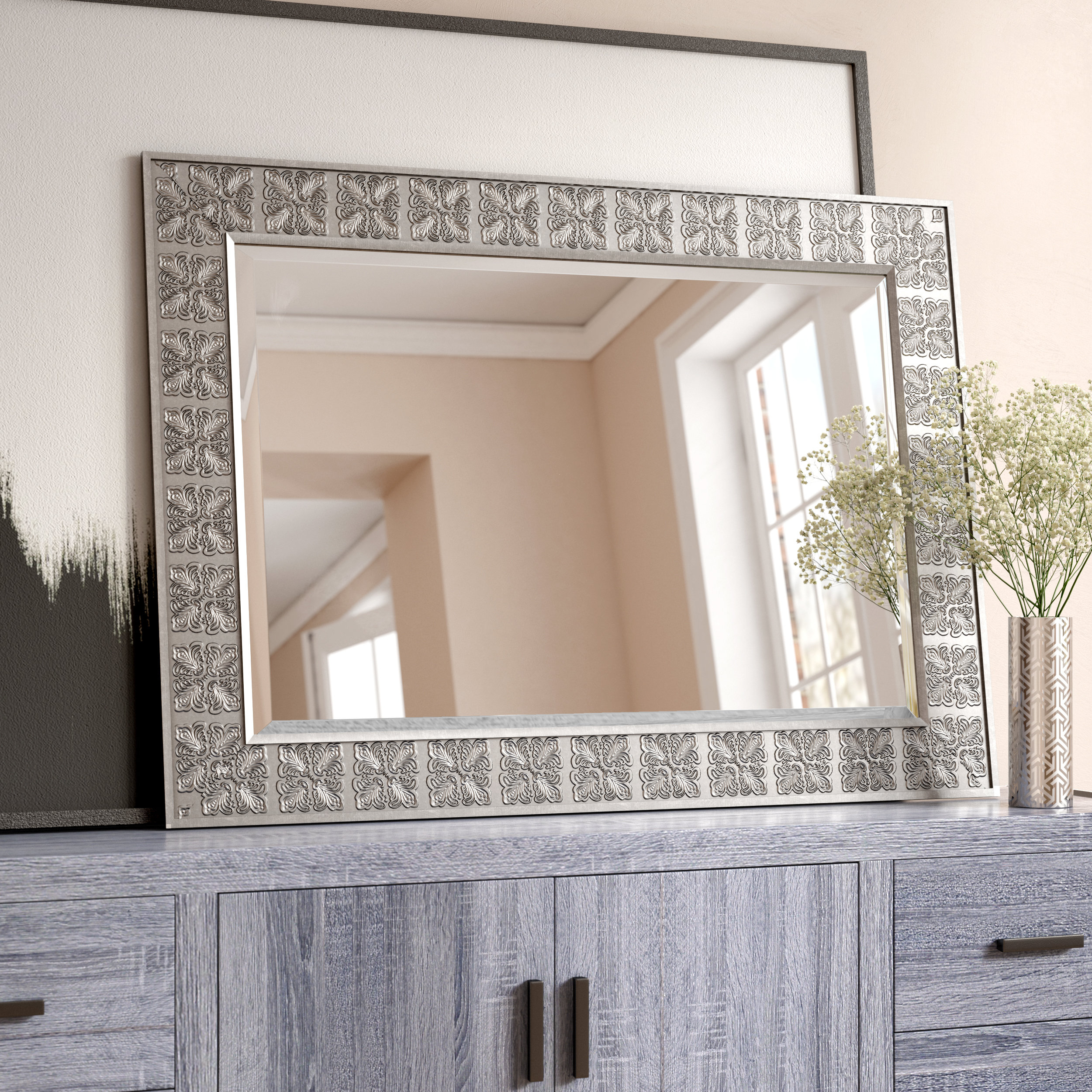 Medallion Accent Mirror For Abdul Accent Mirrors (View 18 of 20)