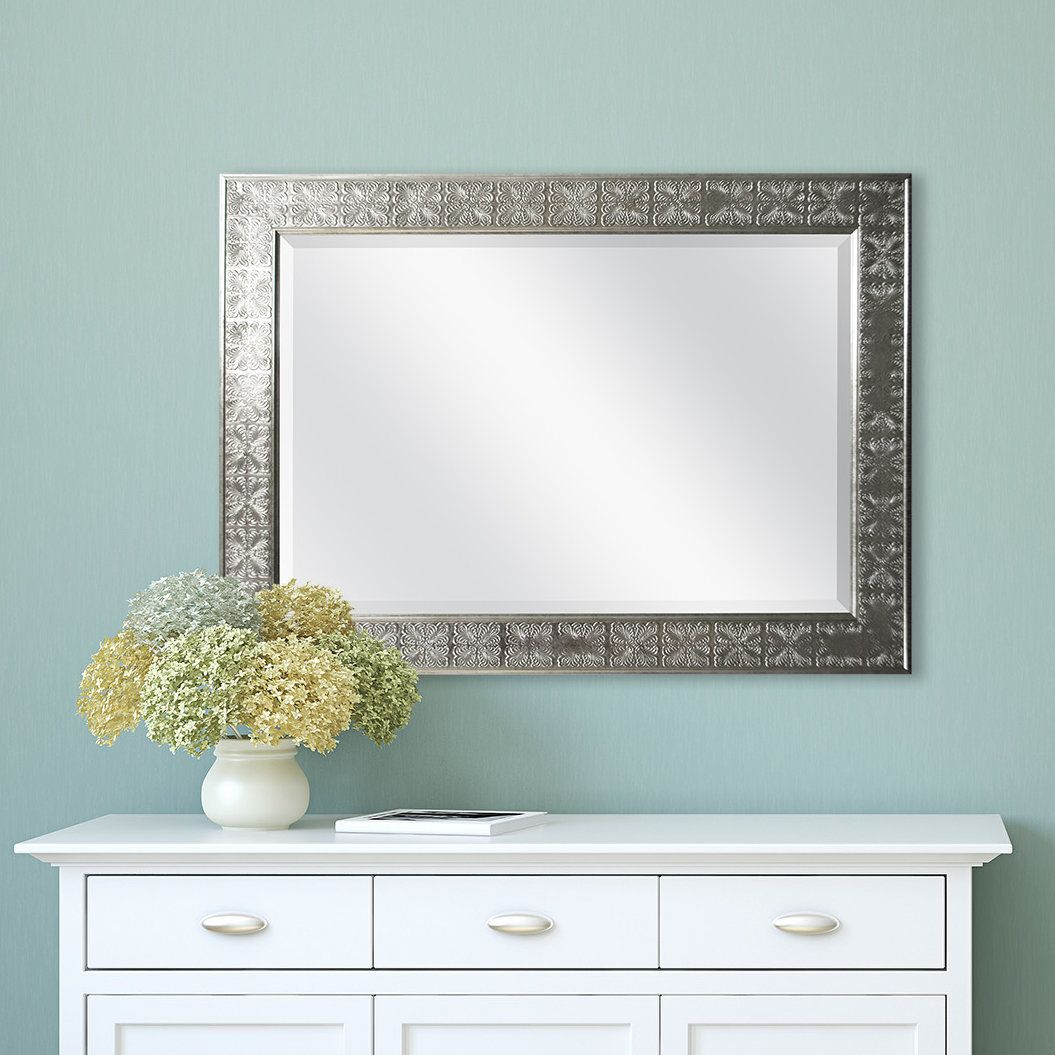 Medallion Accent Mirror | Products | Beveled Mirror, Silver Inside Stamey Wall Mirrors (Image 14 of 20)