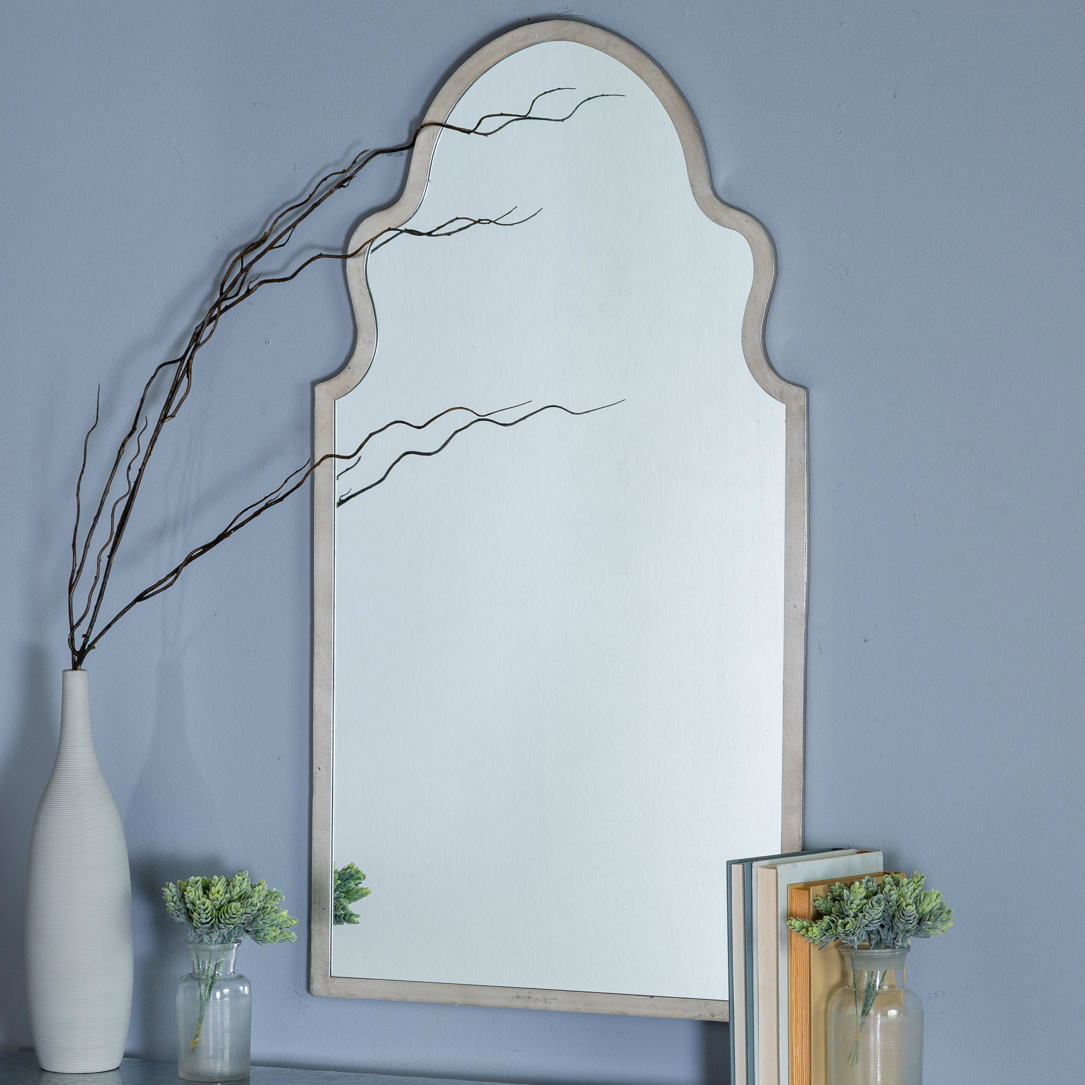 Menachem Modern & Contemporary Accent Mirror In Menachem Modern & Contemporary Accent Mirrors (View 2 of 20)