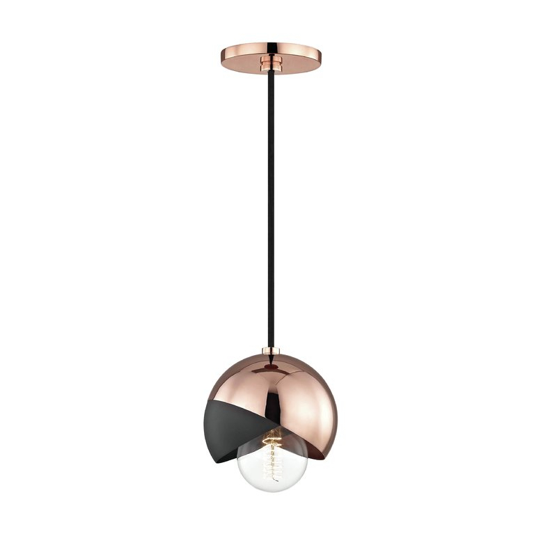 Menke 1 Light Globe Pendant Intended For 1 Light Geometric Globe Pendants (Image 19 of 25)