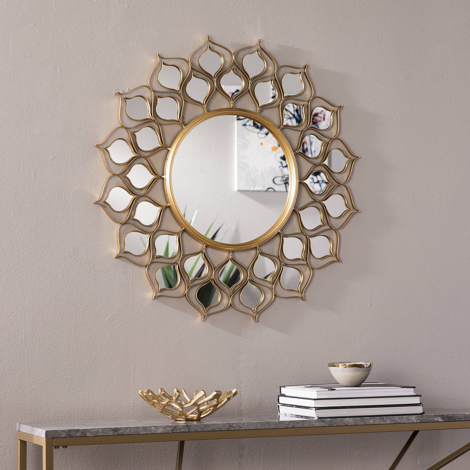 Mercer41 Mirrors You'll Love In 2019 | Wayfair Within Harbert Modern And Contemporary Distressed Accent Mirrors (Image 14 of 20)
