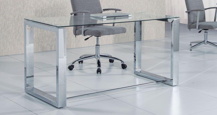 Mesa Despacho Oficce.cristal Templado Translúcido (View 21 of 25)