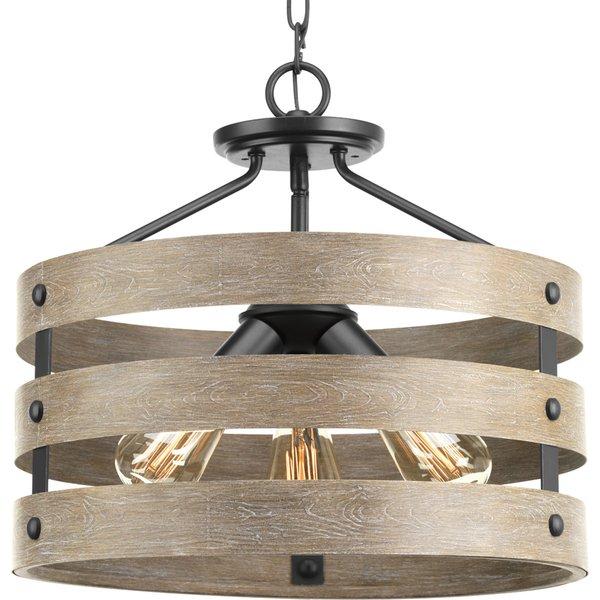 Metal Frame Drum Pendant | Wayfair Pertaining To Willems 1 Light Single Drum Pendants (Image 12 of 25)