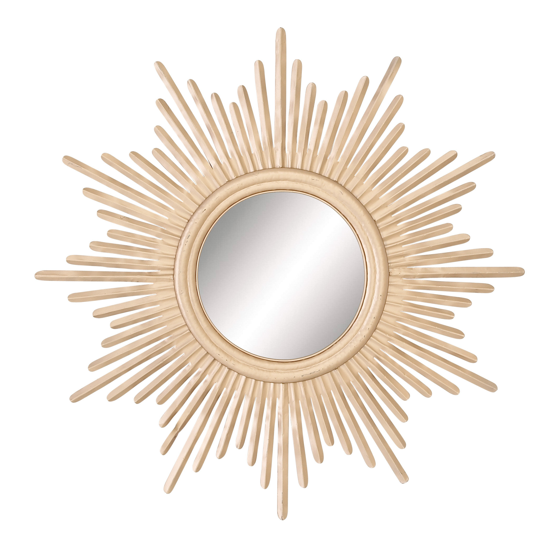 Metal Sunburst Wall Mirrors You'll Love In 2019 | Wayfair In Estrela Modern Sunburst Metal Wall Mirrors (View 8 of 20)