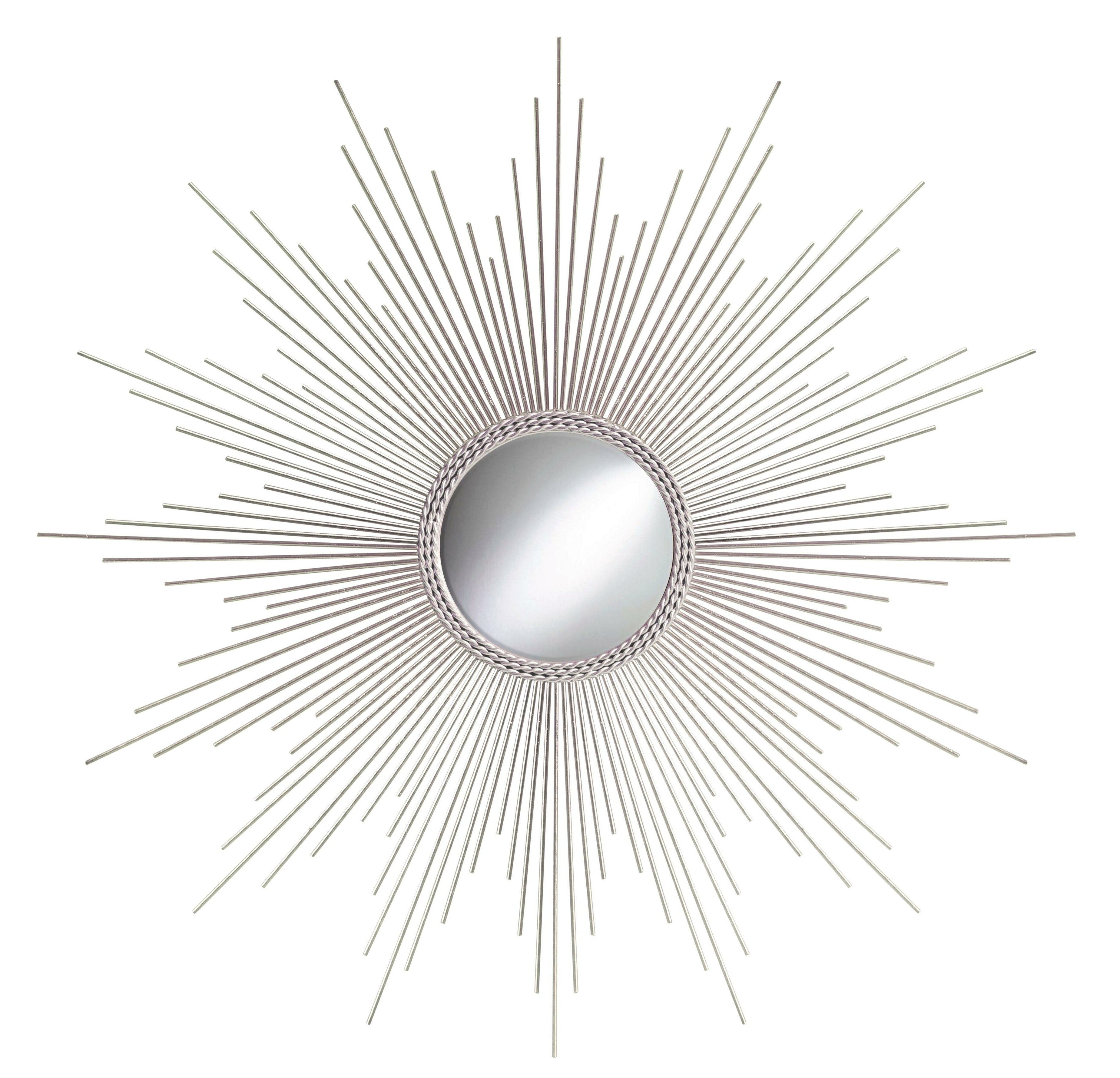 Metal Sunburst Wall Mirrors You'll Love In 2019 | Wayfair Pertaining To Estrela Modern Sunburst Metal Wall Mirrors (View 4 of 20)
