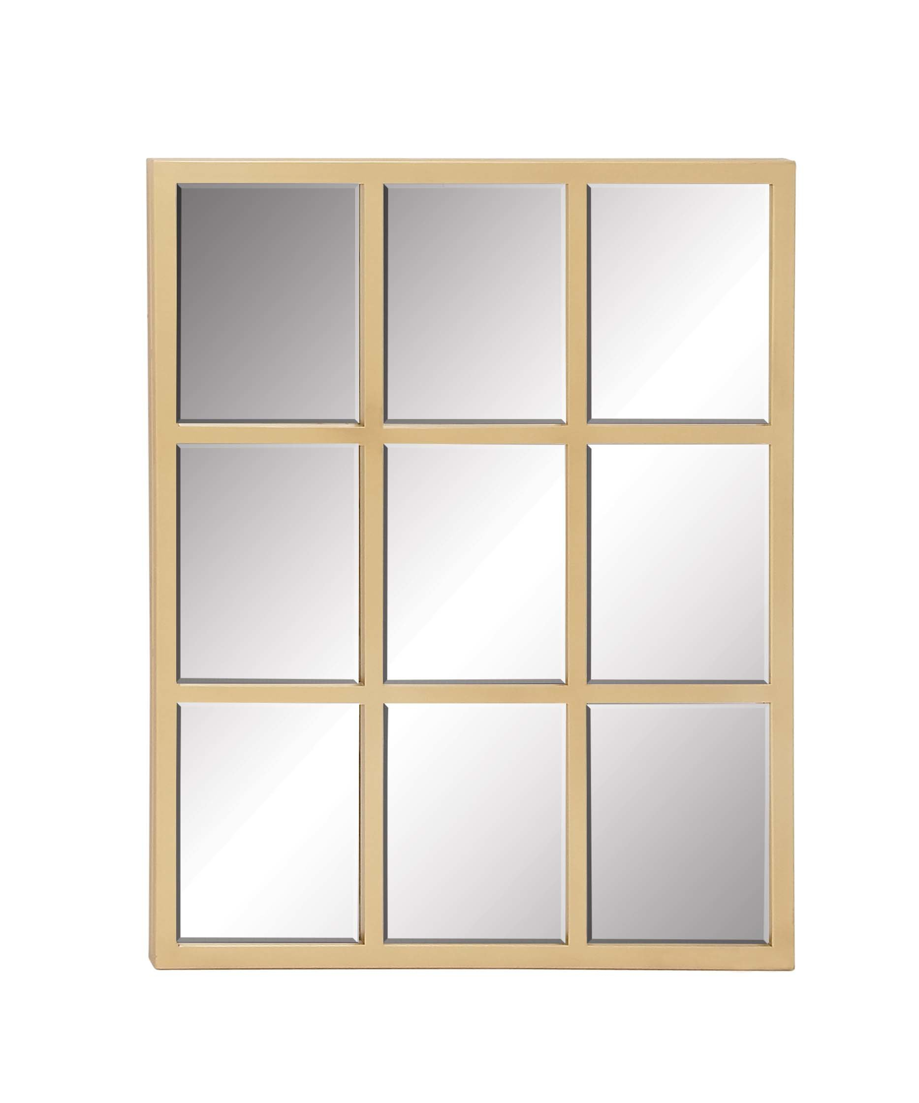 Metal Wall Mirror Intended For Gaunts Earthcott Modern & Contemporary Beveled Accent Mirrors (Image 13 of 20)