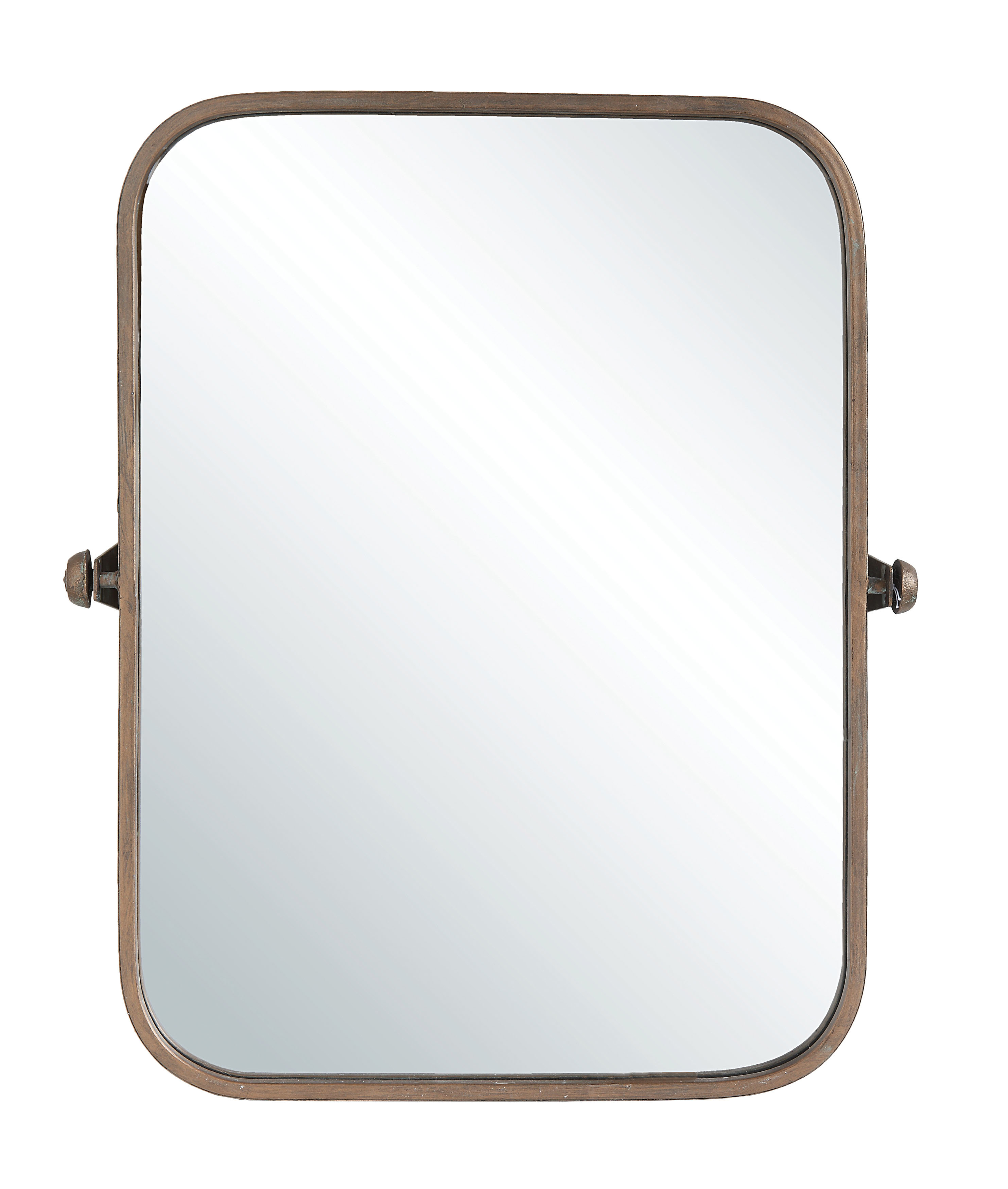 Metal Wall Mirrors | Joss & Main Intended For Phineas Wall Mirrors (Image 10 of 20)